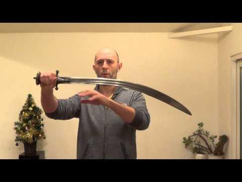 A disadvantage of curved swords - reach