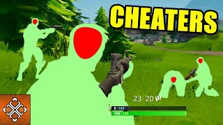 Fortnite Hacks And Cheaters Caught On Camera #1 (Funniest Moments Fortnite Battle Royale)