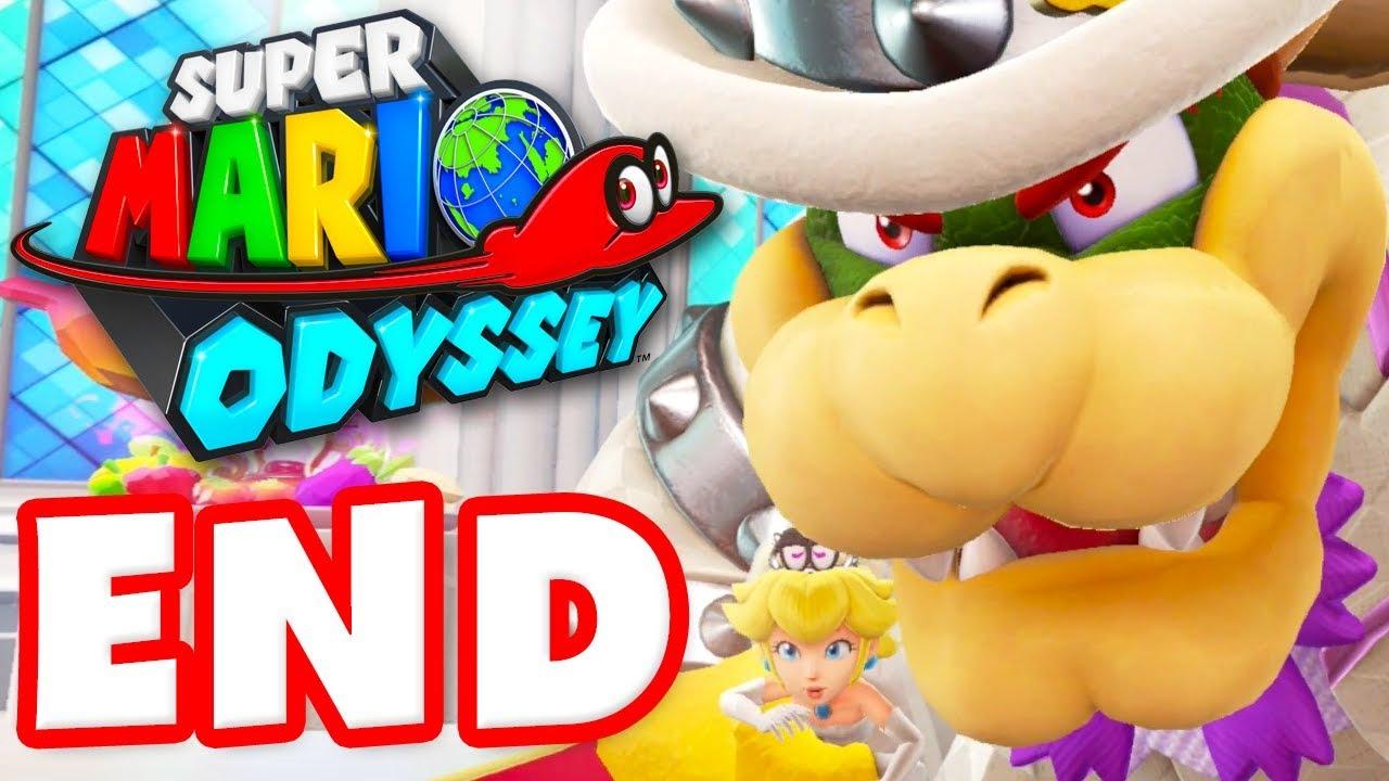 Super Mario Odyssey Gameplay Walkthrough Part 11 Bowser Wedding Boss Ending Nintendo Switch