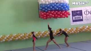 тренировка по акробатике девочек