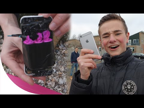 IPHONE 6S DROP TEST!
