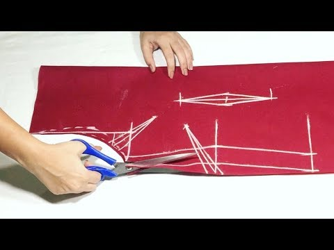 Kameez Cutting With Plates(darts) With Usefull Tips || Sewing Tutorial