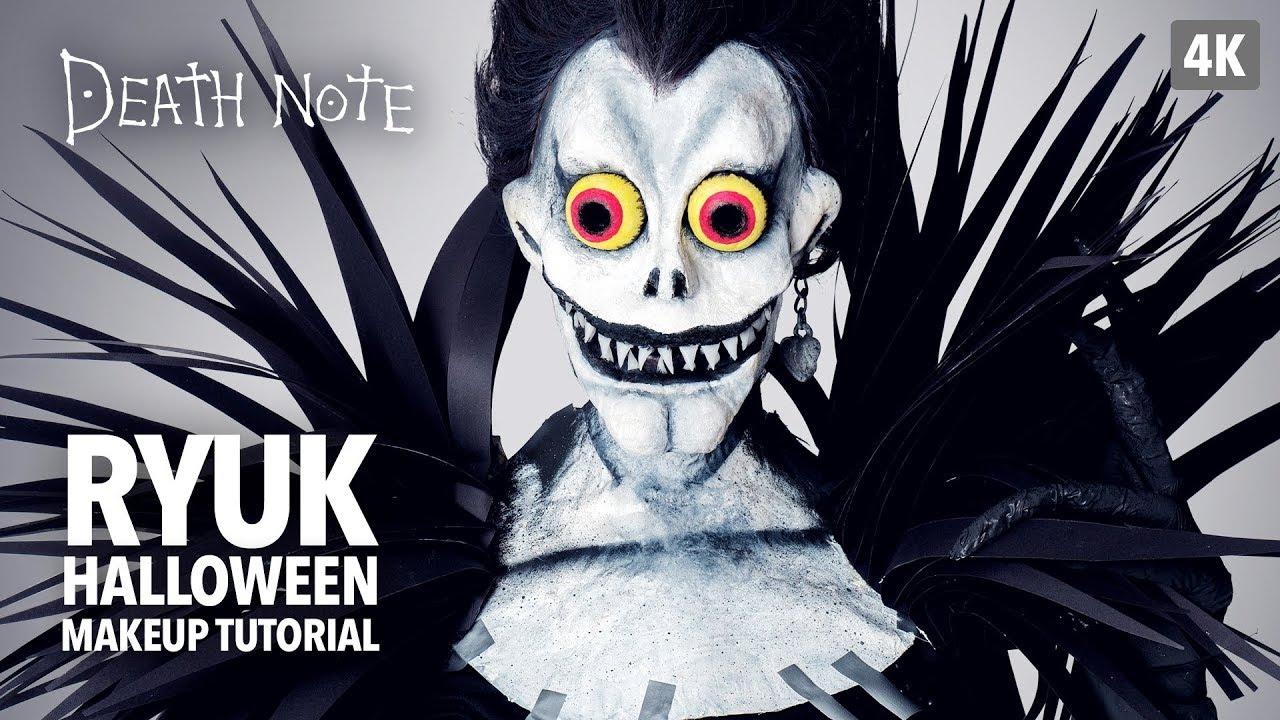 Death Note Ryuk Halloween Makeup Tutorial