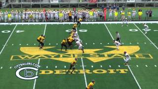2015 Prep KickOff Classic   Detroit ML King vs Warren De La Salle