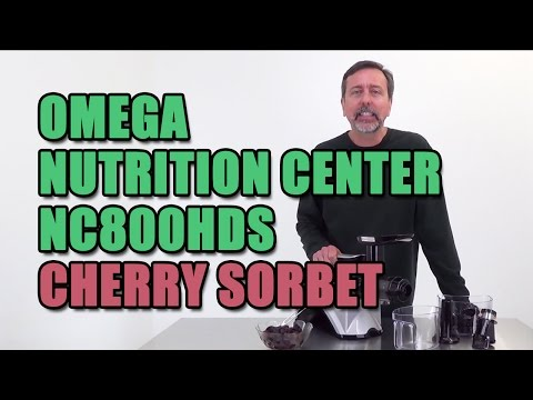 Omega Nutrition Center NC800HDS Cherry Sorbet