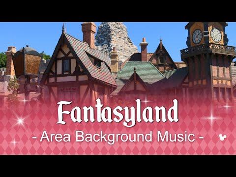 Disneyland | Fantasyland | Full Area Music Loop