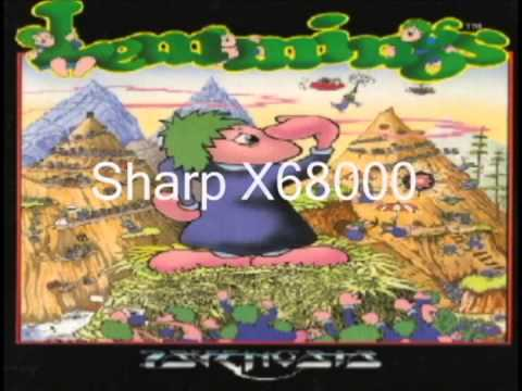 Lemmings - The Galop (Can-Can) Every Version From Every Port
