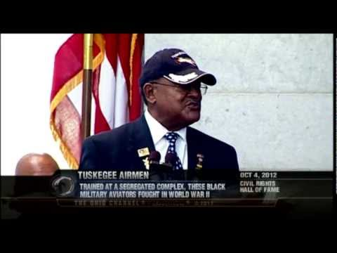 Tuskegee Airmen Inducted into Ohio Civil Rights Hall of Fame