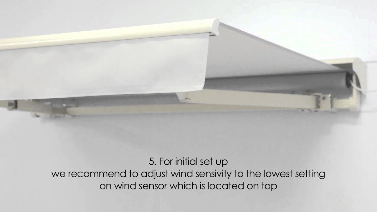 How to Install Awning Wind Sensor by Awning Depot