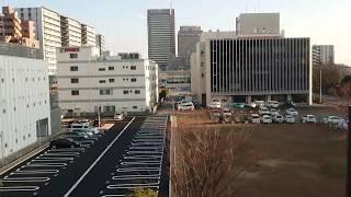【車窓動画】千葉都市モノレール 市役所前駅から千葉みなと駅