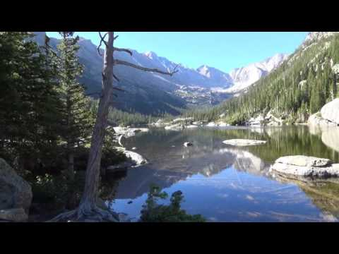 MILLS LAKE HIKE - ROCKY MOUNTAIN NATIONAL PARK