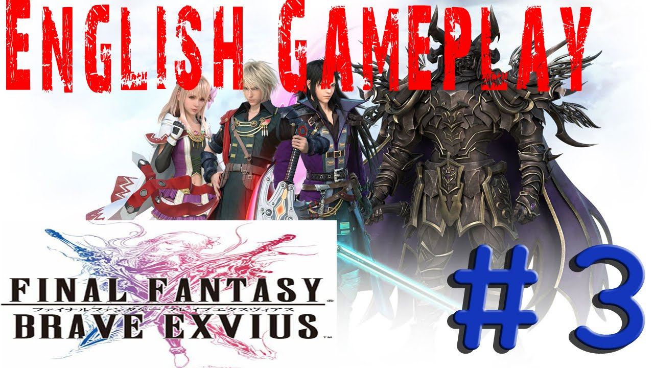 3 Final Fantasy Brave Exvius Gameplay Walkthrough Mitra Dalnakya