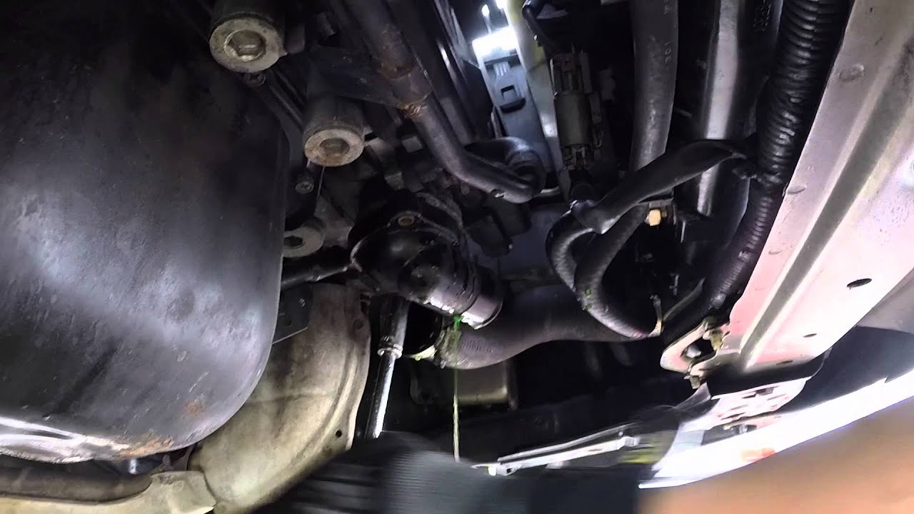 how to change thermostat in subaru forester