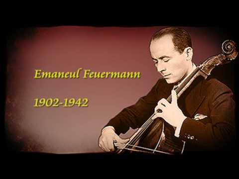 Emanuel Feuermann - Haydn : Cello Concerto in D - 1st Mvt (1935) - 再復刻