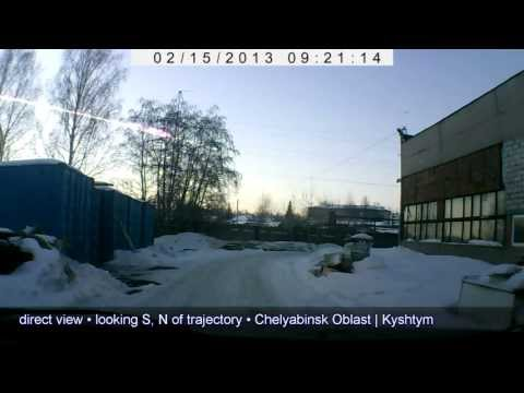 The Great Russian Meteor of 2013 [HD]