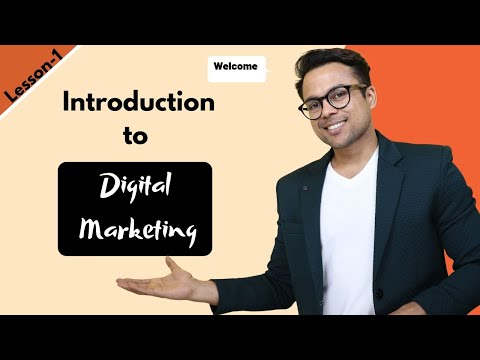 Lesson-1: Introduction to digital marketing