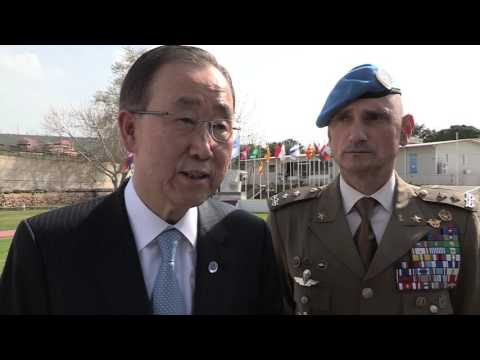 United Nations Secretary-General Visits UNIFIL Headquarters