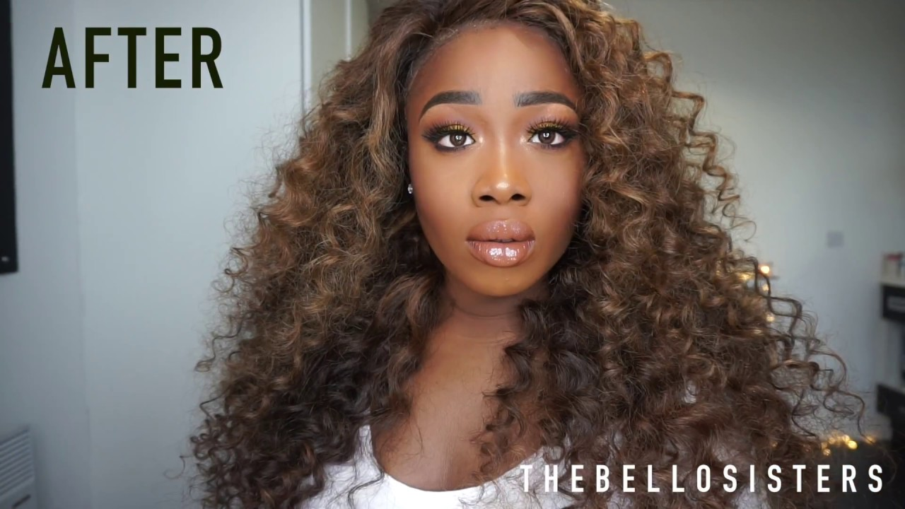 How To Get Beyonce Inspired Curls Full Hair Tutorial Hair Details Youtube