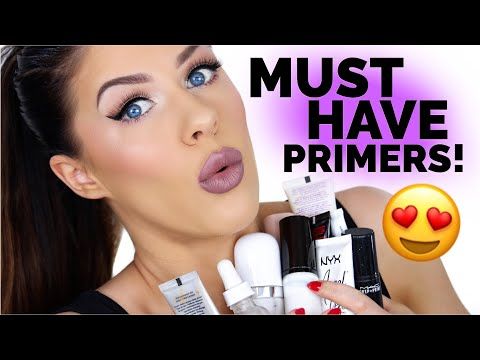 MUST HAVE PRIMERS!! | BEAUTY FAVORITES 2017!!