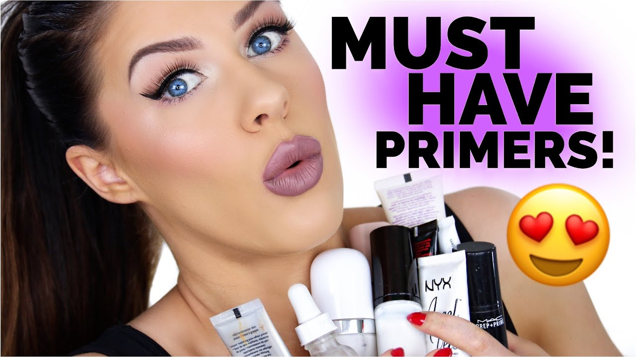 MUST HAVE PRIMERS!! | BEAUTY FAVORITES 2017!! - YouTube