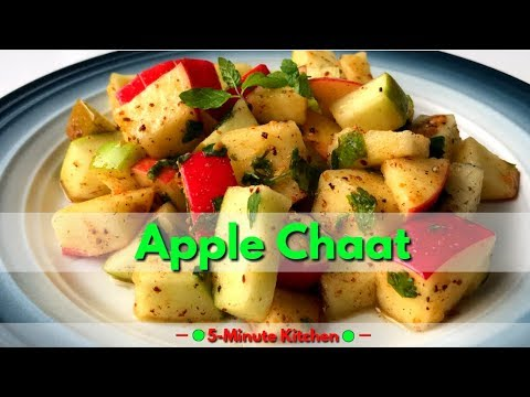 Apple Chaat | Apple Salad | Healthy, Quick And Easy Snack