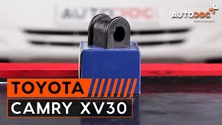 Tips for changing Anti roll bar bush kit TOYOTA