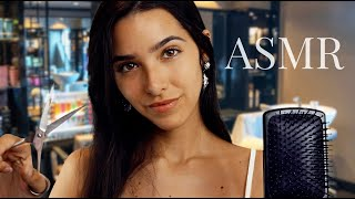 ASMR Hair Salon (Haircut, Shampoo, Scalp Massage, personal a...