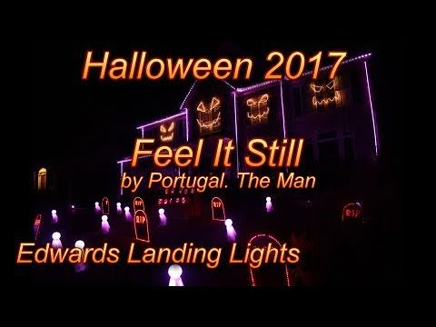 Halloween Light Show 2017 - Feel It Still by Portugal. The Man