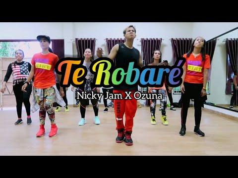 Nicky Jam x Ozuna - Te Robaré  ZUMBA  FITNESS  At NIO Studio Balikpapan