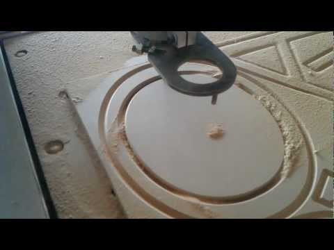 Torchmate 2x4 -- CNC Router -- Convoyant Sign 2