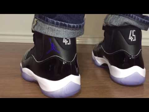Air Jordan Retro 11 Space Jam 2016 unbox and on feet review