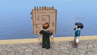 ROBLOX: MY MOTHER AND I IN THE EARTH OF THE GIANT CUBE! (Cube Simulator)