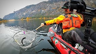 Rigging a Kayak for Trout and Kokanee Trolling