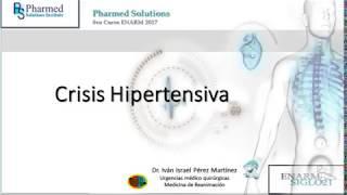 Urgencia hipertensiva y pautas de emergencia