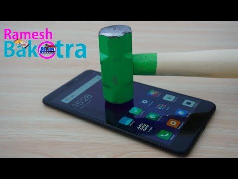 Xiaomi Mi Max 2 Screen Scratch Test Gorilla Glass 4