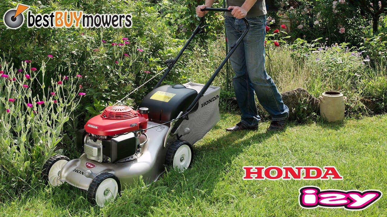 best buy mowers presents the honda izy lawn mower youtube. Black Bedroom Furniture Sets. Home Design Ideas