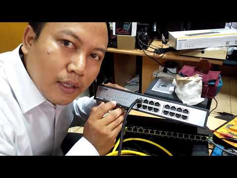 Test Switch D-link Dgs-1016c - 16 Port