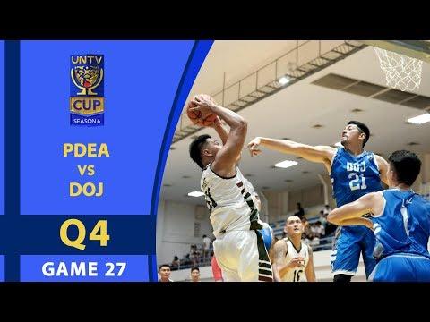 UNTV Cup 6: PDEA vs DOJ — Q4