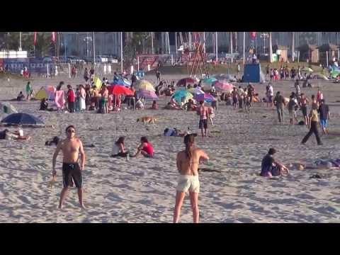Playa Cavancha, Iquique, Tarapaca, Chile