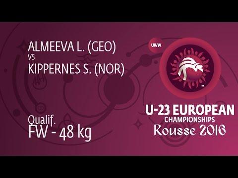 Qual. FW - 48 kg: S. KIPPERNES (NOR) df. L. ALMEEVA (GEO) by FALL, 6-0