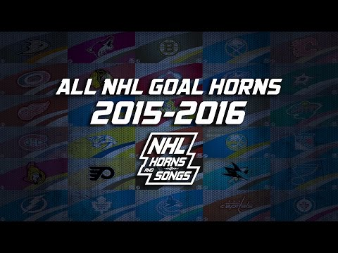 All 30 NHL Goal Horns In 15 Minutes 20152016