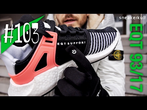#103 - adidas EQT Support 93/17 Boost - Review/on feet - sneakerkult