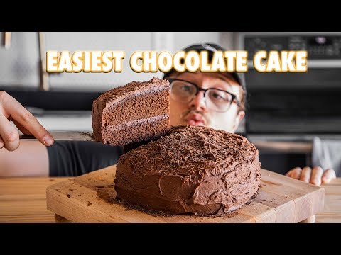 The Easiest Chocolate Cake Of All Time