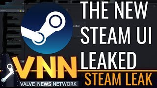 Some of The New Steam UI Leaked
