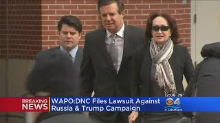 Democrats File Lawsuit Naming Russia, Trump Campaign