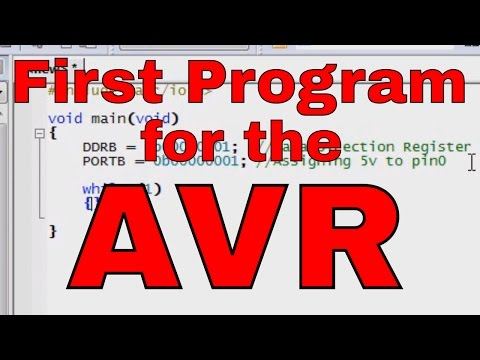 10. Arduino for Production! How to Write our first program and transfer to the AVR Microcontroller from YouTube · High Definition · Duration:  13 minutes 13 seconds  · 239.000+ views · uploaded on 10.12.2010 · uploaded by Patrick Hood-Daniel