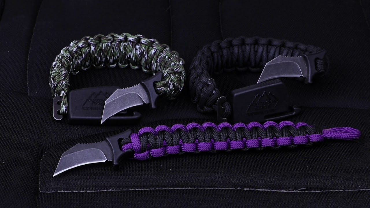 Para Claw Knife Bracelet Review Youtube