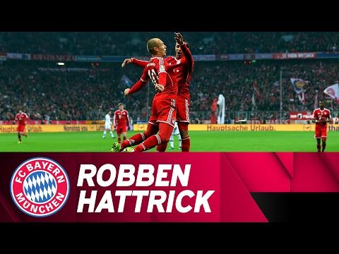 Robben-Hattrick Against FC Schalke 04 | 2013/14 Season