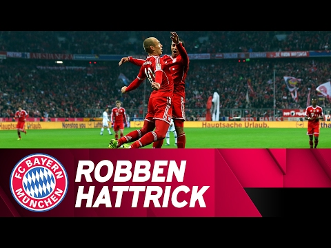 Robben-Hattrick Against FC Schalke 04 | 2013/14 Season