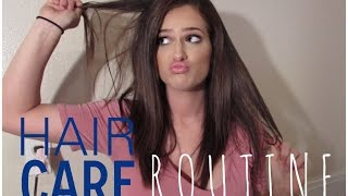 My Current Hair Care Routine   Dry & Curly Hair